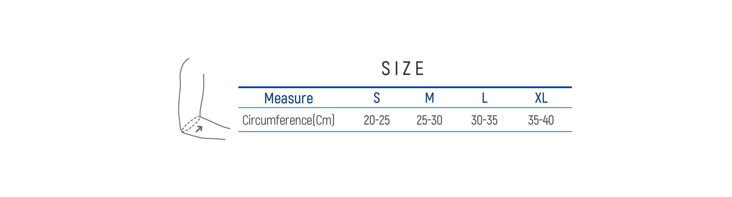 DR-E015 Size table image