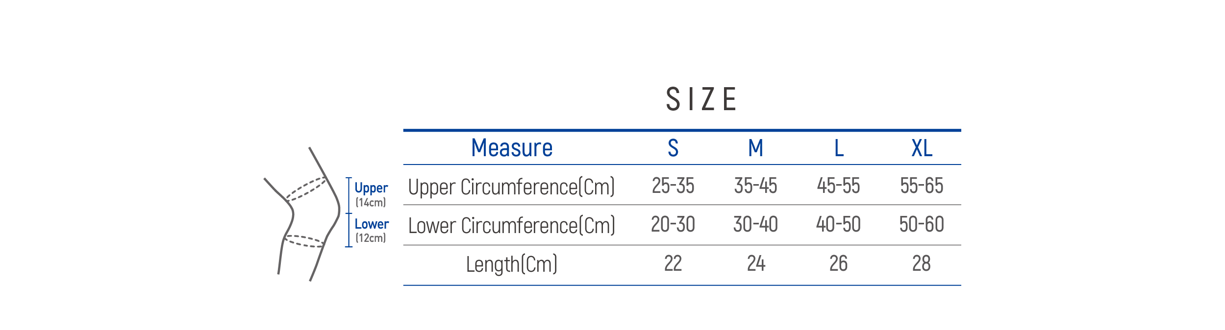 DR-K090 Size table image
